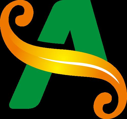 字母A矢量Logo图标