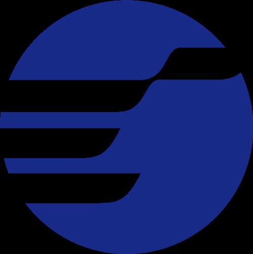 圆形地球物流运输相关矢量图标矢量logo