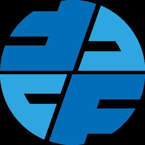 圆形C和F字母相关图标素材