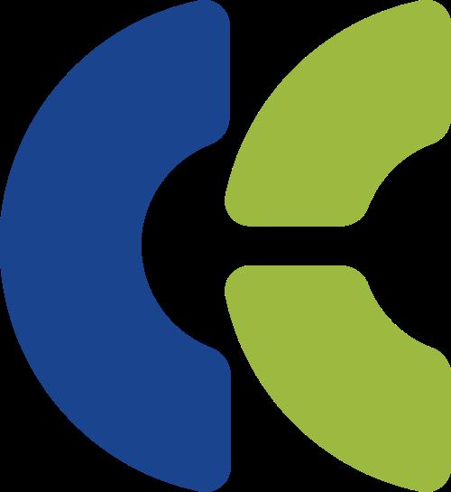 字母C矢量logo图标