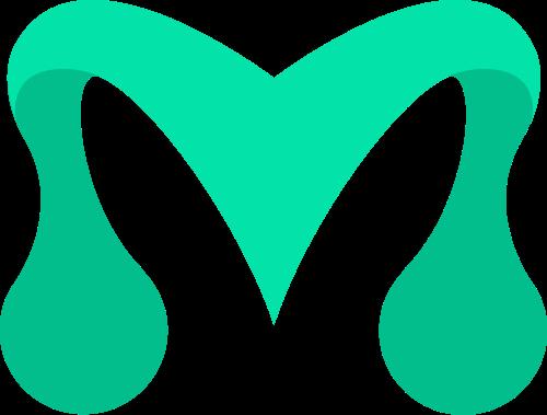 字母M矢量logo图标