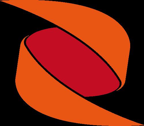 红色抽象矢量logo图标素材