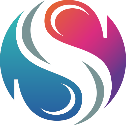 S圆形八卦矢量logo图标