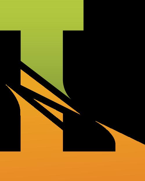 字母L矢量图标