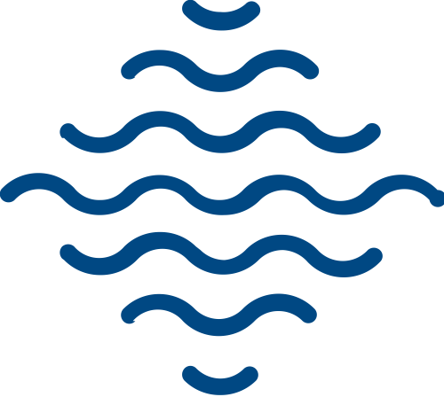 水波矢量图标
