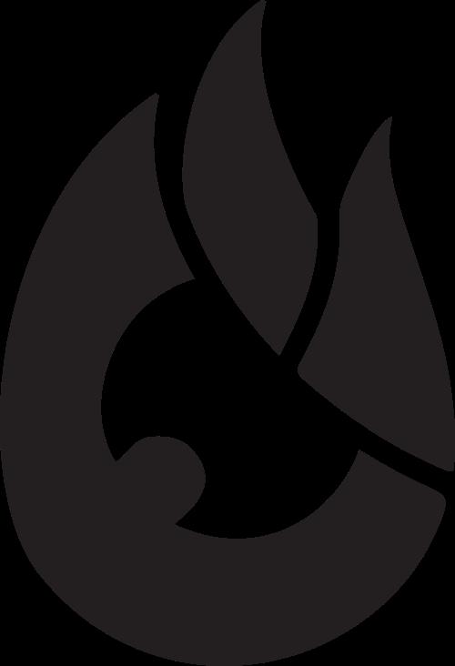 火的卡通形象矢量图形元素