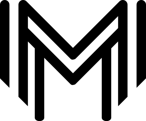 字母M矢量图形