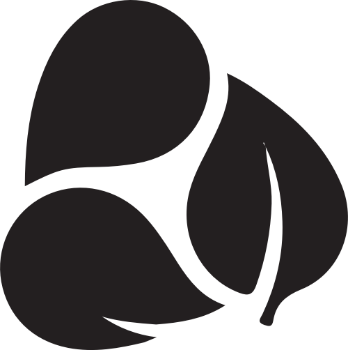 叶子矢量logo图形素材