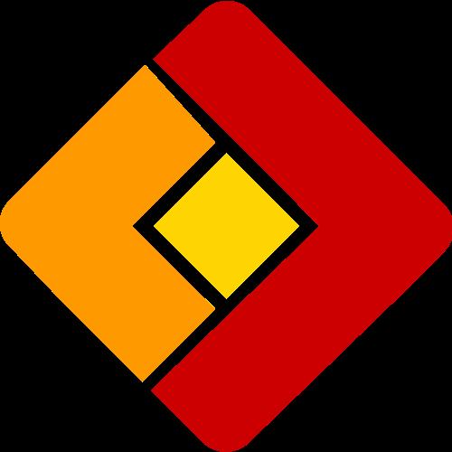 简单方形矢量图形logo图标