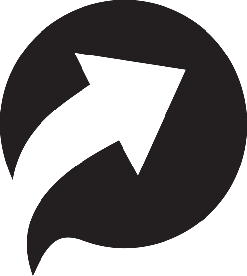 圆形与箭头销售金融相关矢量图形
