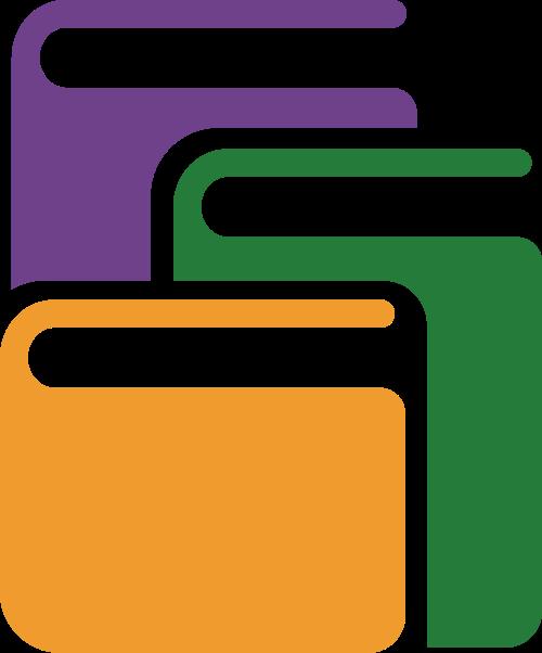 课本教育矢量logo图标