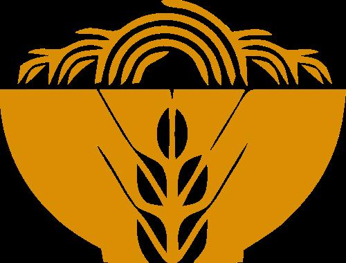 稻谷小麦粗粮矢量图形