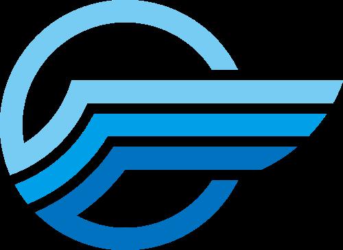 快递运输翅膀相关logo图标素材