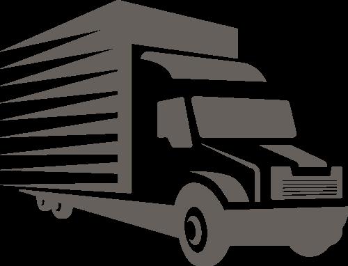 货运卡车logo素材模板
