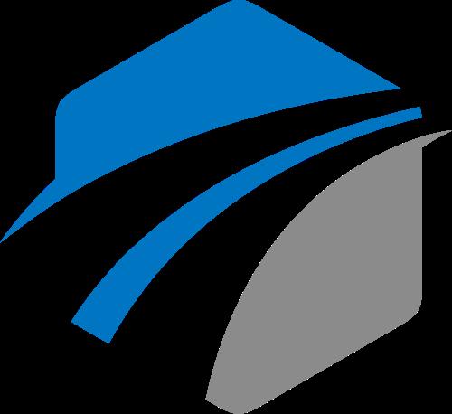 抽象道路交通货运logo素材图标