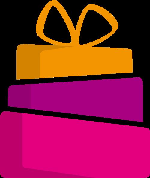 节日礼物生日蛋糕相关logo图标