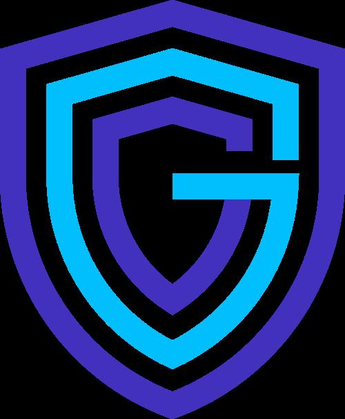 安全盾牌与字母G图标