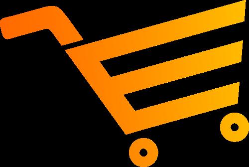 简洁购物车logo矢量图标