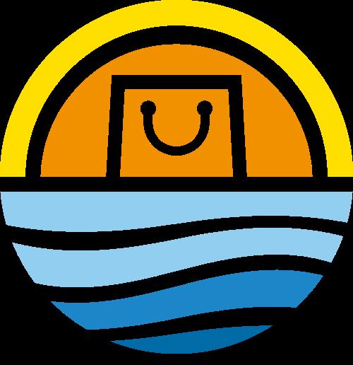 圆形礼品购物logo素材