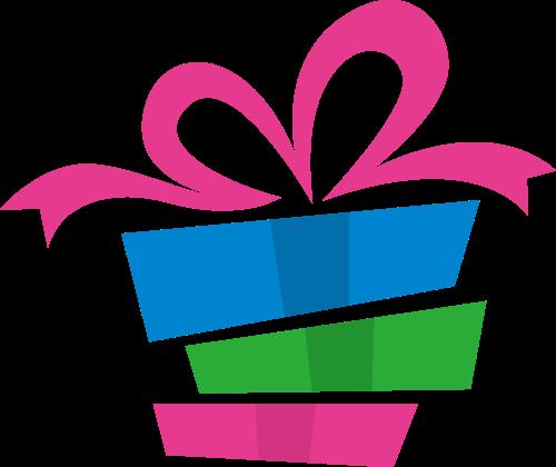 节日礼物相关logo素材