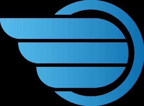 飞翔翅膀图标相关logo素材