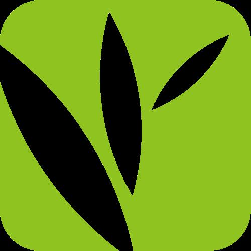 绿色叶子生态环保自然矢量图形