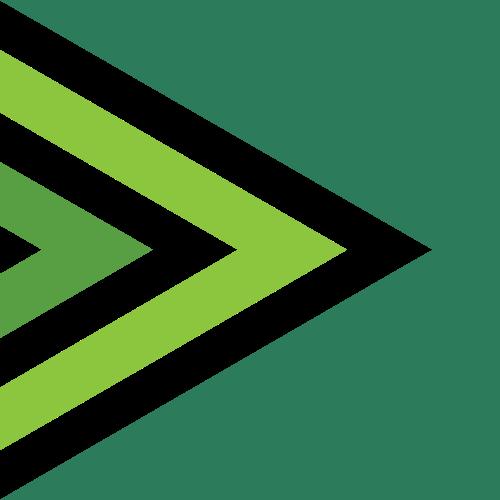 绿色方形logo图标