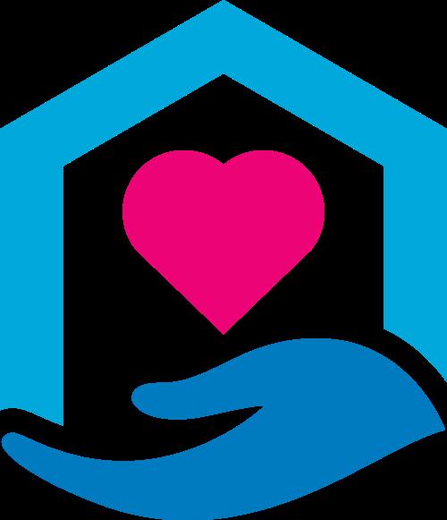 爱心家政公益类logo素材