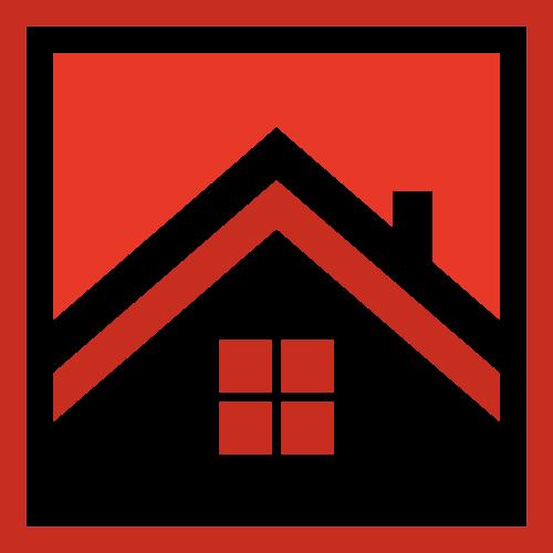 方形地产房屋logo图标素材