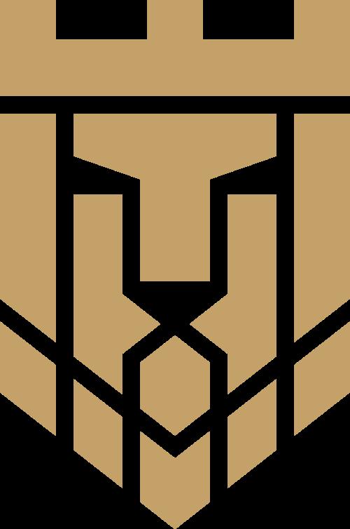 抽象雄狮安全保险金融logo图标
