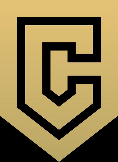 金融盾牌字母C矢量logo素材