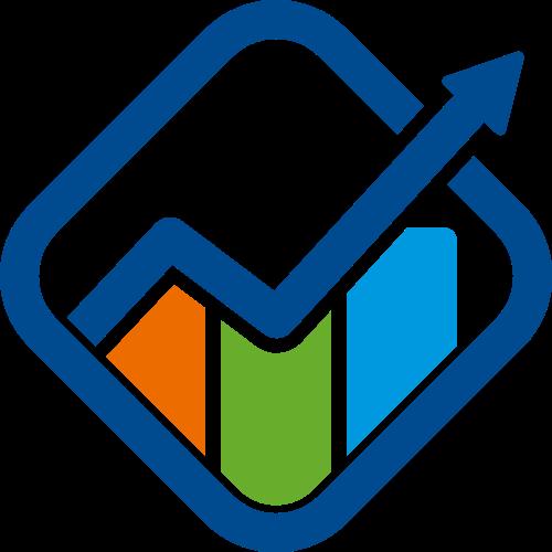 业绩销售上涨箭头logo素材