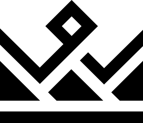 抽象金融皇冠logo素材