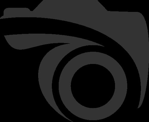 抽象镜头照相机摄影相关logo素材