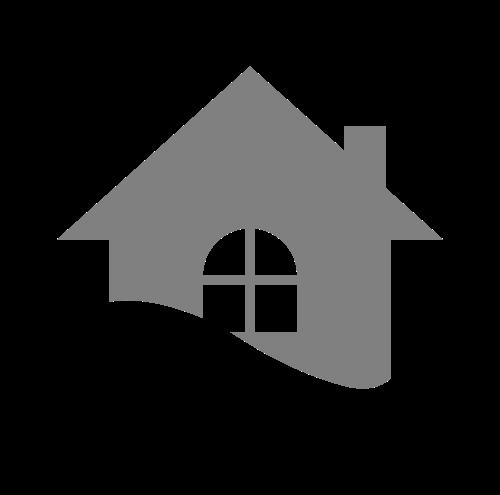 圆形地产房屋波浪装修logo图标素材