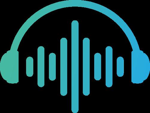 耳机音乐节拍夜店相关logo图标