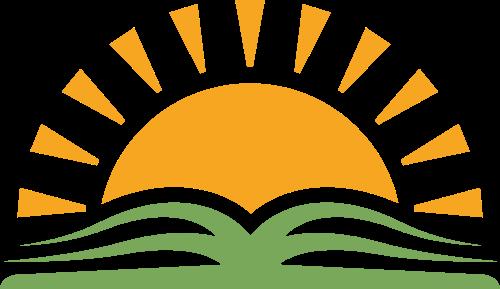 阳光书本学习成长logo图标