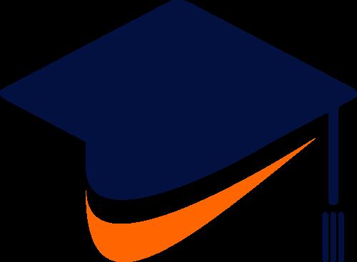 毕业博士帽教育相关素材图标