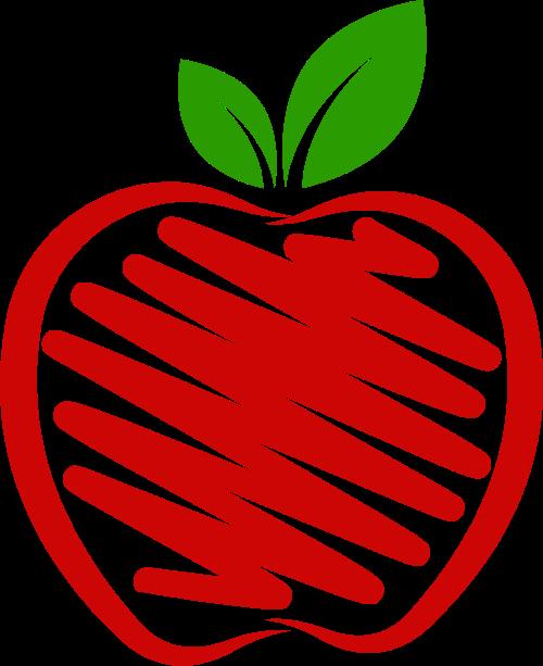 水果苹果插画饮品饮料矢量图标素材