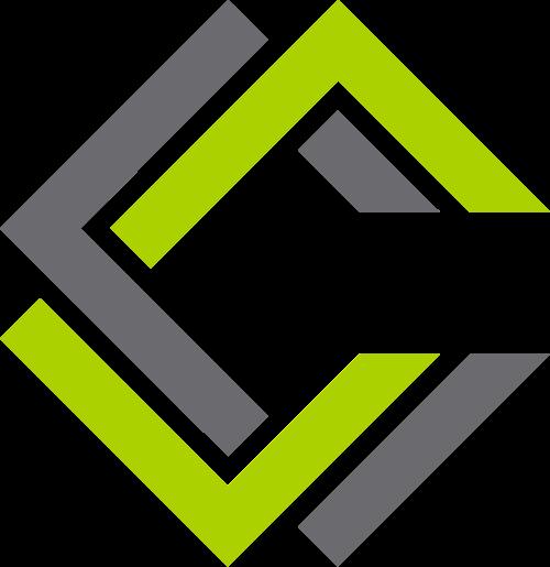 色抽象立体长方体logo图标素材
