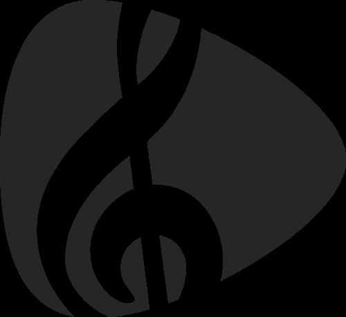 音符音乐矢量图标素材