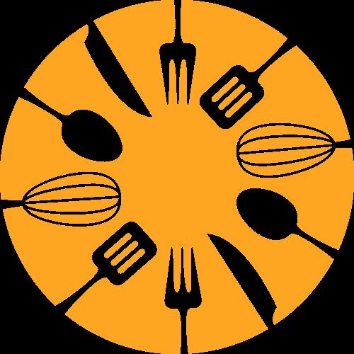 西餐烹饪工具烘培相关logo图标素材