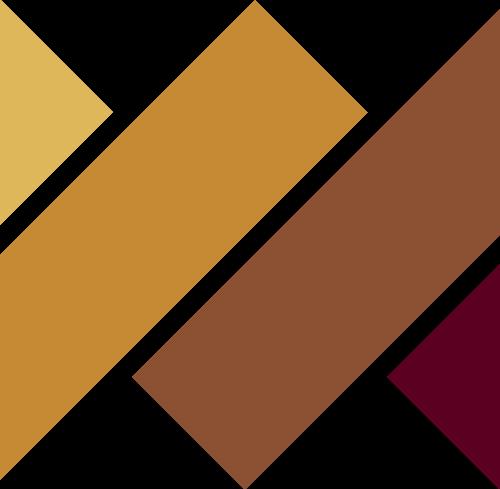 咖啡色几何抽象图形logo图标素材