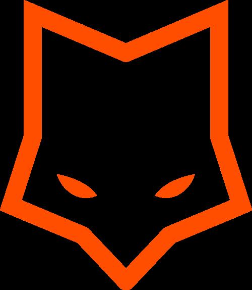 简洁狐狸logo图标素材矢量logo