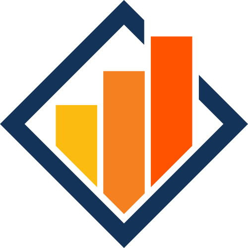 菱形建筑物房地产logo图标素材