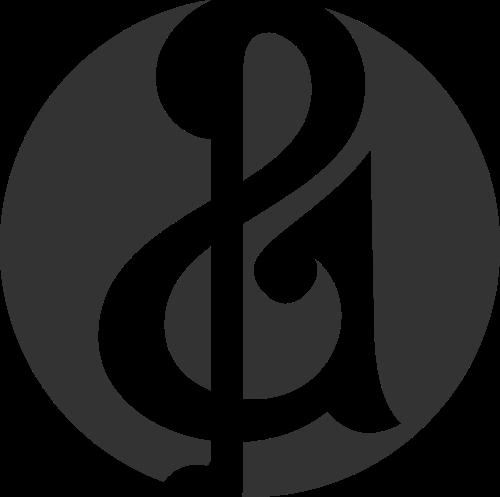 圆形音符音乐艺术教育培训logo图标素材