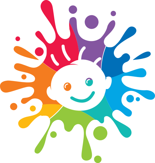 彩色母婴婴儿教育艺术矢量图标素材