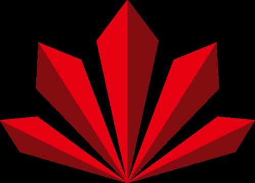 立体菱形建筑科技互联网logo图标素材