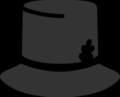 帽子玩具魔术母婴休闲矢量图标素材