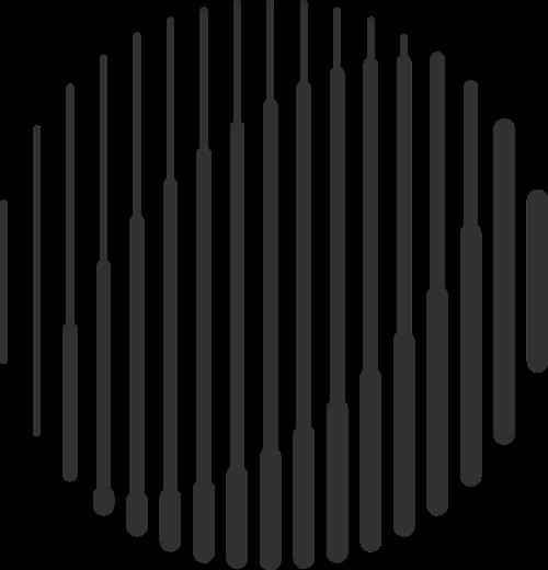 抽象艺术立体线条球体logo图标素次